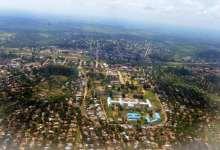 Vue aérienne de Kananga, dans le centre de la République démocratique du Congo, le 11 janvier 2013 | AFP/Archives | Junior D. Kannah