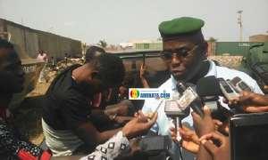 Colonel Mamadou Alpha Barry, porte-parole de la gendarmerie