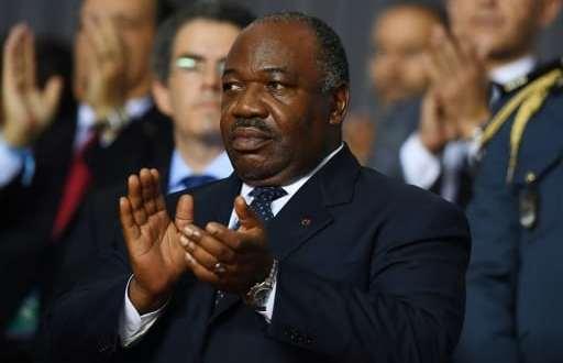 Le président du Gabon, Ali Bongo Ondimba, à Libreville le 5 février 2017   AFP/Archives   GABRIEL BOUYS