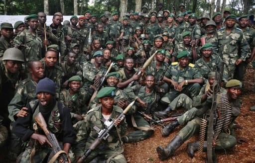 Soldats des Forces armées de la RD Congo à Beni, dans le Nord-Kivu, en mai 2014   AFP/Archives   STRINGER