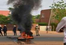 Manifestation d'étudiant à Faranah