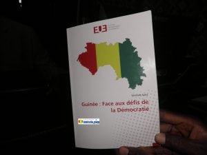 Le livre de Mamady Kaba intitulé Guinée: Face aux défis de la démocratie