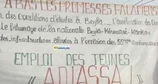 Manifestation à Beyla