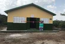 Un village d'Orange Guinée