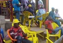 Des jeunes militants au siège du RPG-Siguiri