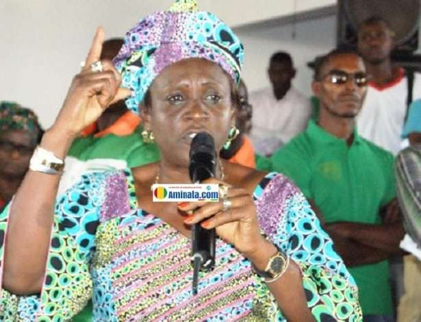 Hadja Mariama Tata Diallo, députée de l'Union des forces démocratiques de Guinée (UFDG)