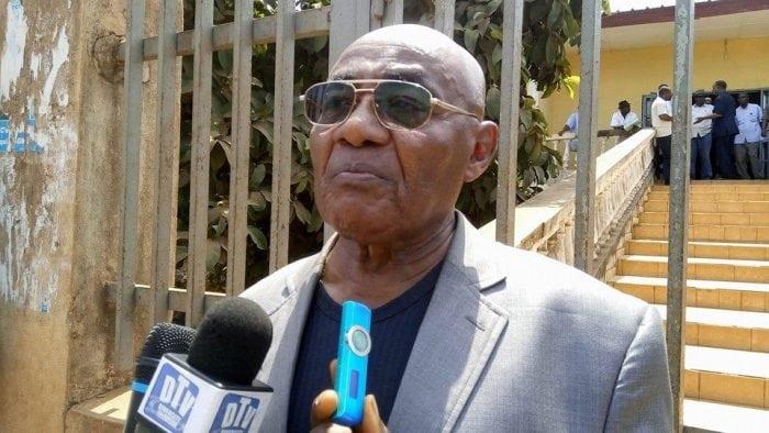 Louis M'Bemba Soumah, secrétaire général de l'Union syndicale des travailleurs de Guinée (USTG)