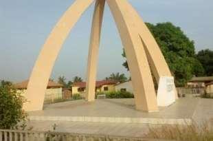 La ville de N'zérékoré en Guinée forestière
