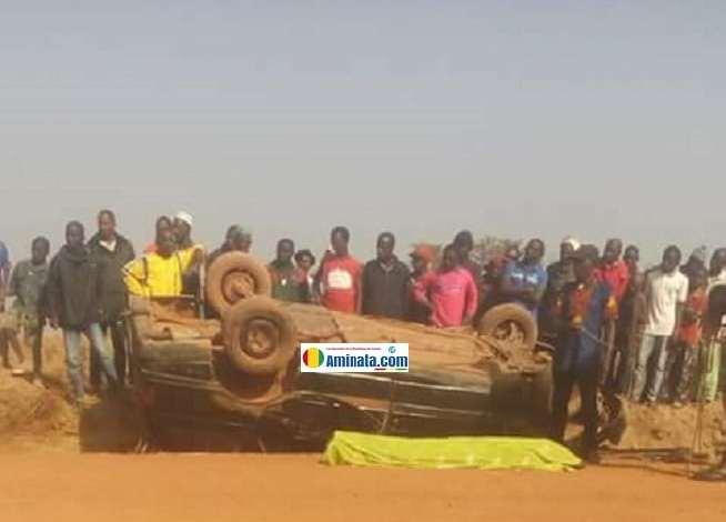 Un chauffeur tué dans un accident de circulation
