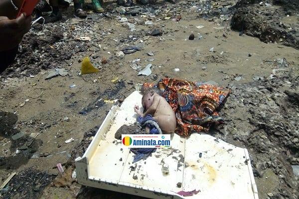 Découverte du corps d'un nouveau-né au quartier Sans-fil