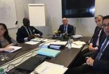Lors d'une réunion de Conseil d'administration de la SMB