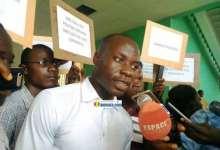 Gabriel Haba, chargé de communication du Conseil nationale des organisations de la société civile (CNOSCG)