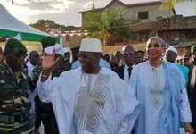 Le premier ministre Kassory Fofana à Kankan