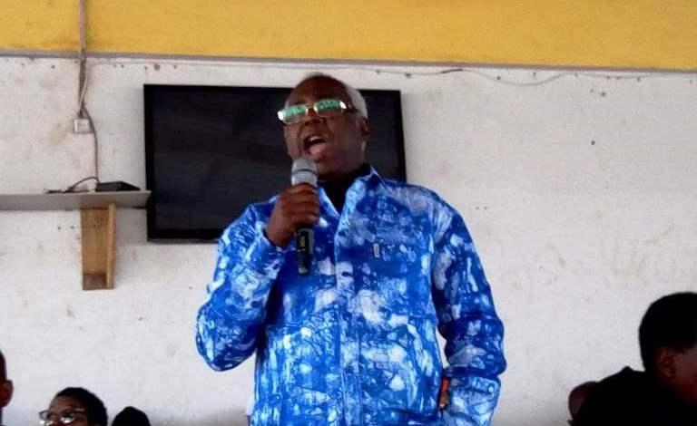 Alpha Ibrahima Keira, ministre de la sécurité