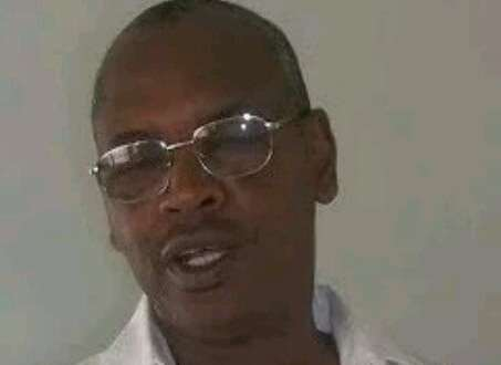 Attaoulaye Sall, médecin à l'hôpital régional de Labé