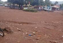 Manifestation d'enseignants à Tougué