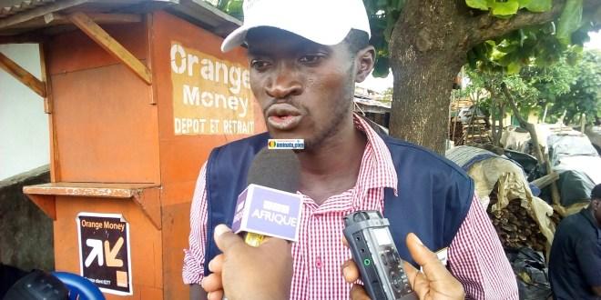 Sékou Koundouno, administrateur de Balaie citoyen