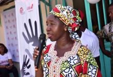 Madame Bangoura Maimouna Yombouno, président de l'ONG APAF
