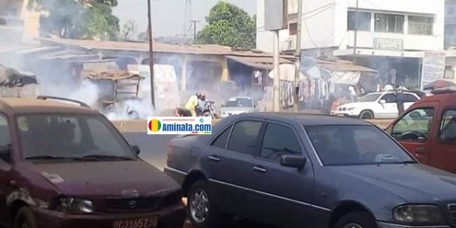 Violentes manifestations à Matoto