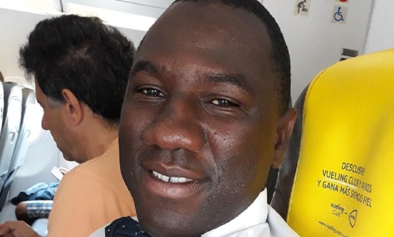 Fodé Diakité, président de l'de l'association guinéenne pour l'unité et la Transparence (AGUT)
