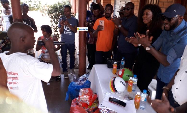 L'ONG Initiatives Femmes de Guinée (IFG) offre d'équipements sportifs à la Cité de solidarité