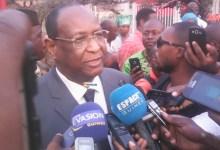 Lansana Kouyaté, président du PEDN
