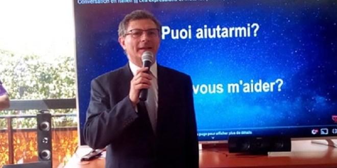 Livio Spadavecchia, ambassadeur d'Italie à Conakry