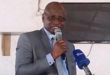 Lansana Komara, ministre de l'enseignement technique et secrétaire permanent du RPG arc-en-ciel