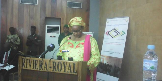 Mama Kany Diallo, ministre du plan