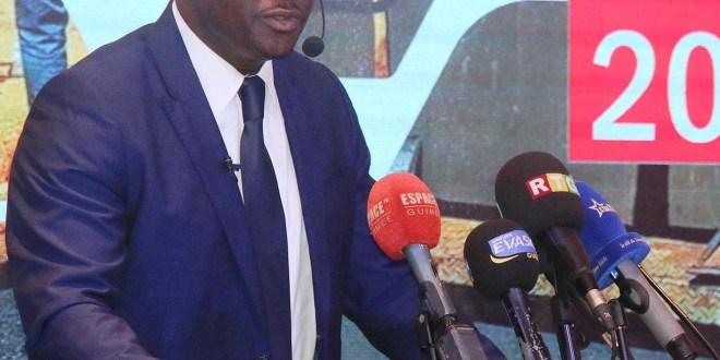 Moustapha Naïté, ministre des travaux publics