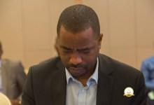 Tibou Kamara, ministre d'Etat chargé de l'industrie