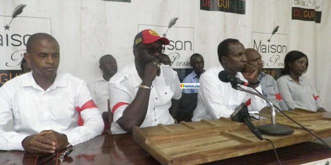 Elhadj Thierno Mamadou Bah du mouvement les brassards rouges