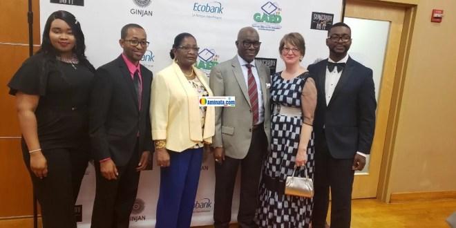 Kerfalla Yansané, ambassadeur de Guinée à Washington lors d'une levée de fonds dans la capitale américaine