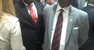 Kerfalla Yansané, ambassadeur de la Guinée à Washington lors de la grande fête de la francophonie