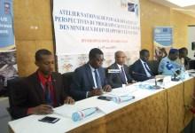 Atelier national de partage des acquis et perspectives du programme ACP-UE en faveur des minéraux de développement en Guinée