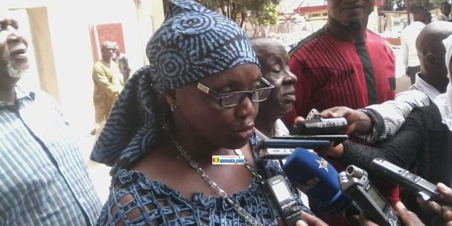 Mariama Camara, directrice générale de l'Office National de Cinématographie, de Vidéographie et de la Photographie de Guinée (ONACIG)