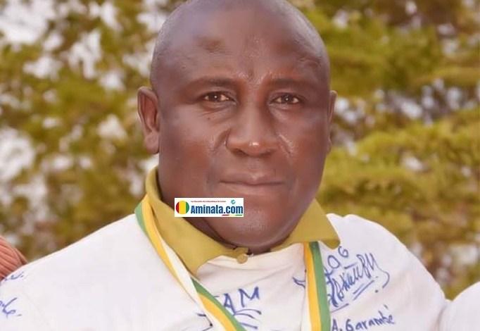 Souleymane Baldé dit Jakino, entraîneur du Syli national cadet finaliste