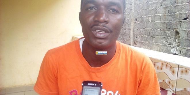 Théophile Maomou, président du mouvement Conseil Citoyen pour le Développement de la Guinée (CCDG)