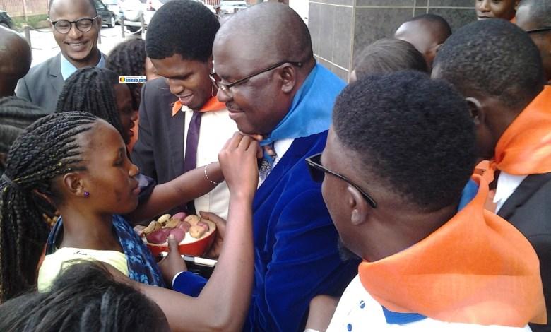 Faya Millimono, président du Bloc libéral à Conakry après un long séjour à l'étranger