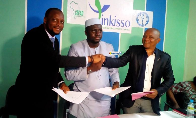 Signature d'un partenariat pour l'amélioration de la santé des démunis, la promotion de la santé, sécurité