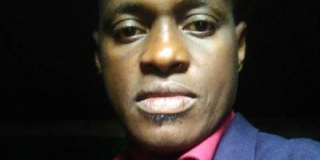 Amadou Bouré Sylla, responsable de zone de l'ONG Sabou Guinée