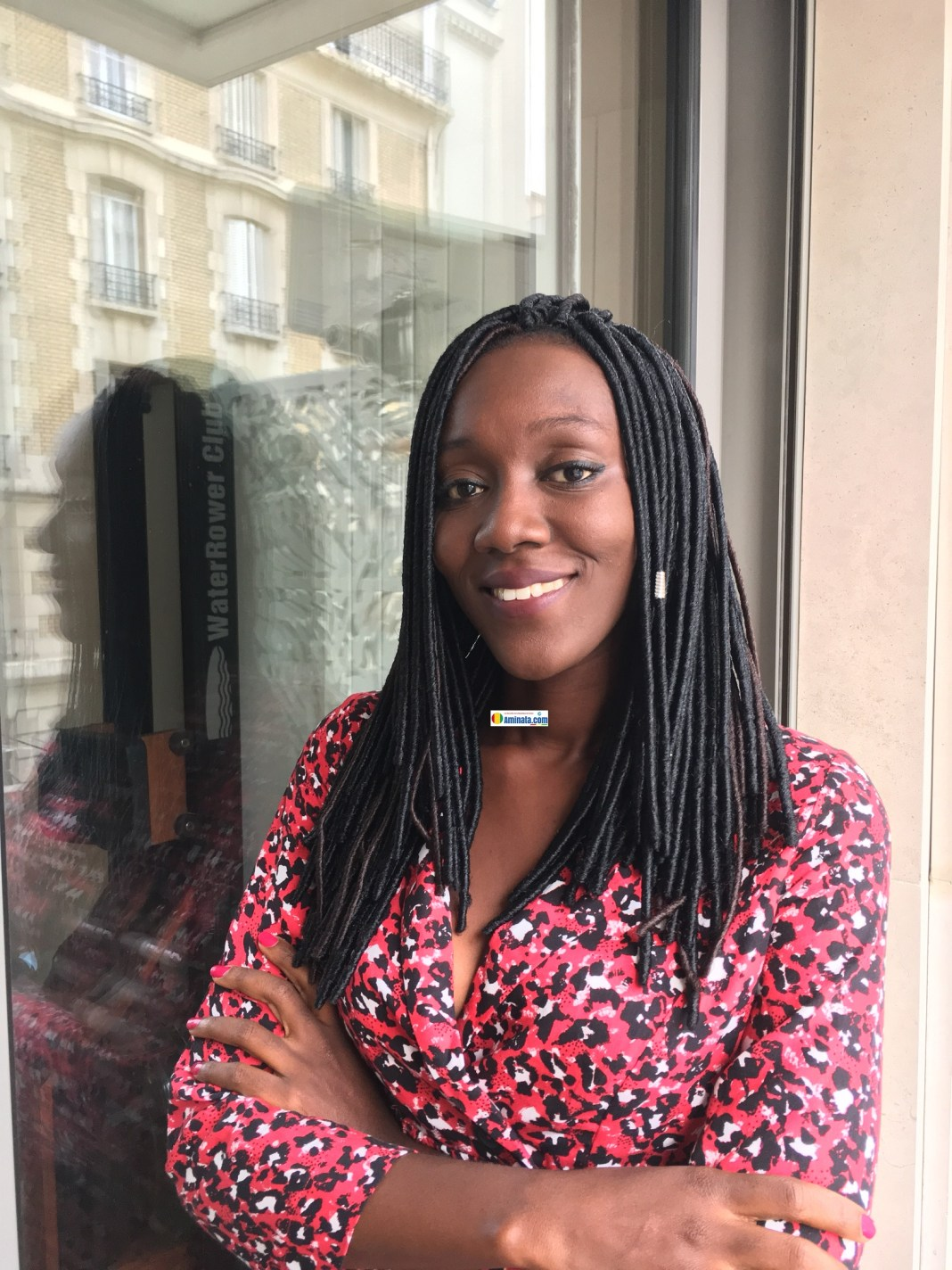 L'écrivaine Maimouna Marlee Camara