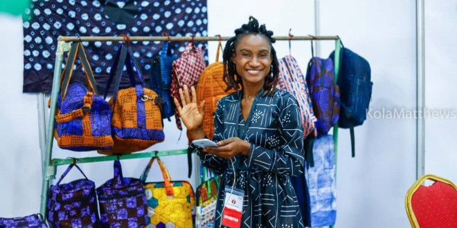 Mariama Kaba, lauréate guinéenne du UBA Marketplace