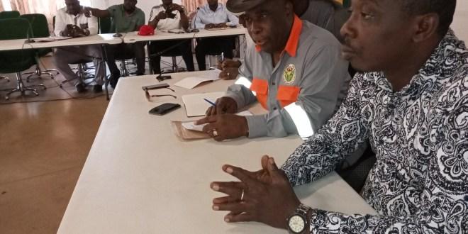 Réunion d'échanges pour trouver de solutions relatives à la fourniture d'électricité à Kolaboui