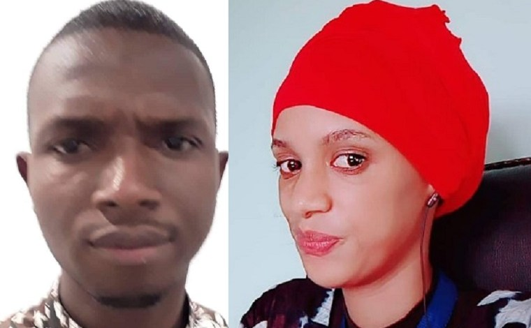les futurs mariés Ibrahima Thierno Diallo et Rabiatou Barry