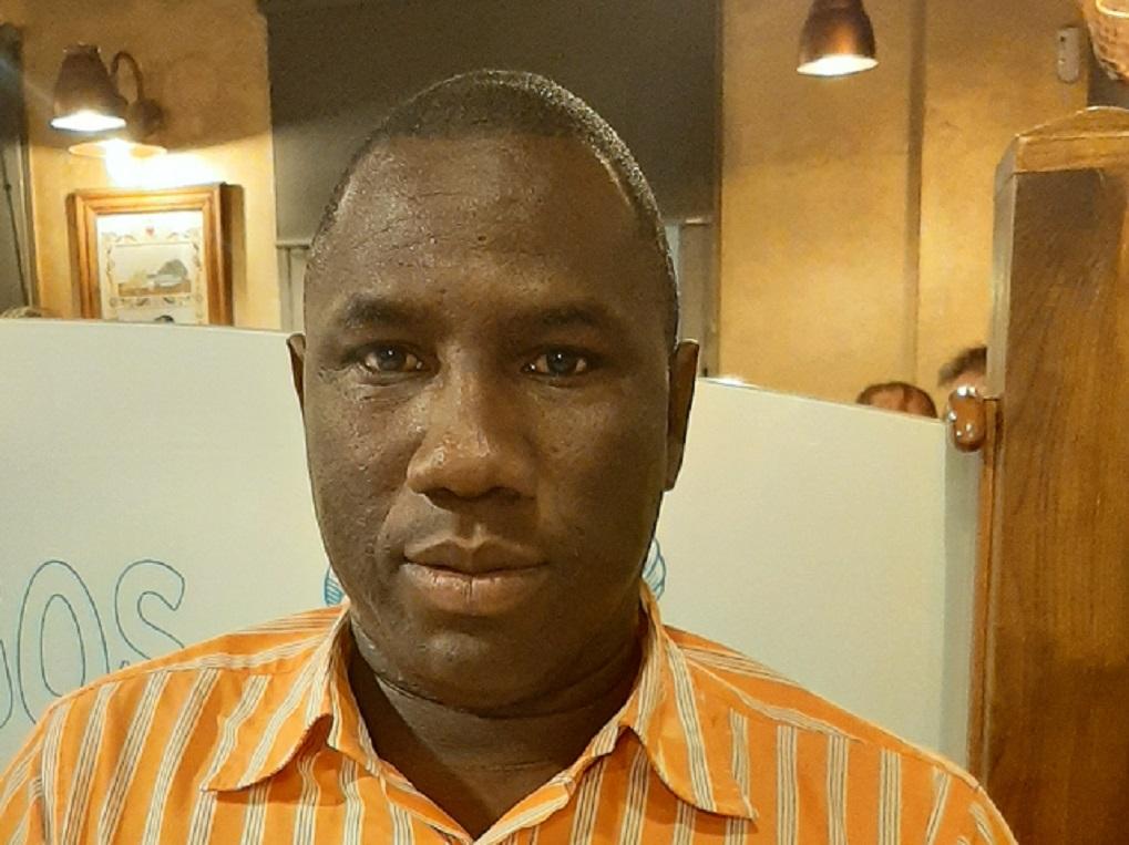 Fodé Diakité, Président de l' Association guinéenne pour l'unité et la transparence (AGUT)