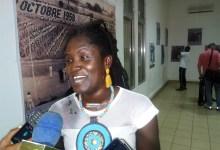 La comédienne Aminata Touré