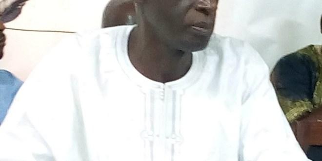 Mamadou Bah Baadicko, Président de l'Union des forces démocratiques (UFD)