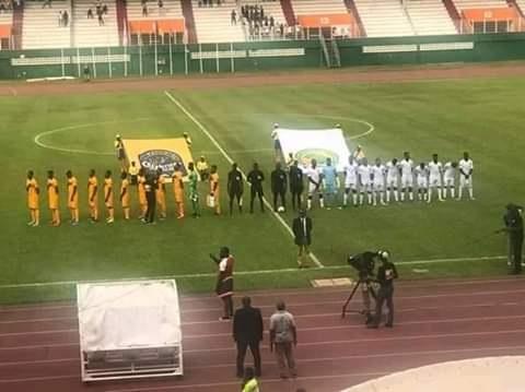 Match entre le Syli national de moins de 23 ans contre la Côte d'Ivoire