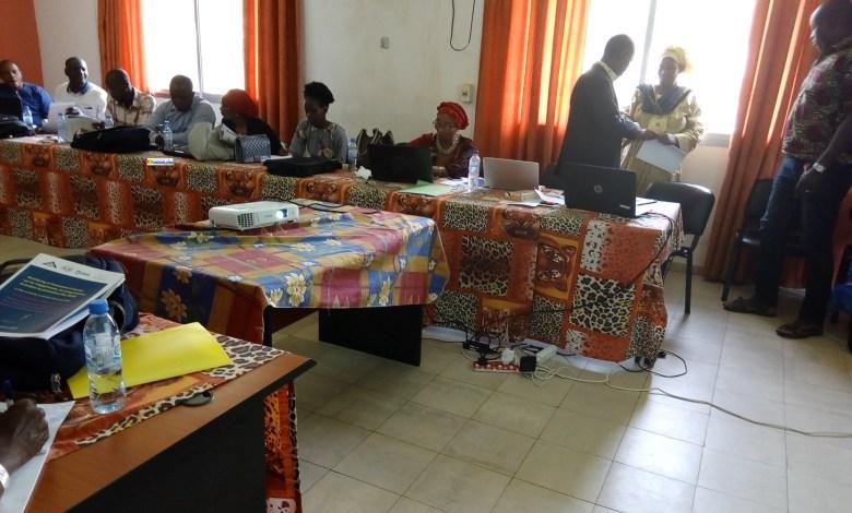 Atelier de formation sur le monitoring et le lancement d'alerte sur les engagements, les programmes et projet de promotion des DSSR à Conakry